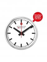 Ceas: Ceas de perete Mondaine MSM.25S10 Stop2Go  Ø 25 cm