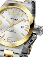 Ceas: Ceas barbatesc TW-Steel CB32 Canteen Bracelet 50mm 10ATM