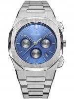 Ceas: Ceas barbatesc D1 Milano CHBJ02 Cronograf Ionic Blue 42mm 5ATM