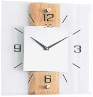 Ceas: Ceas de perete JVD NS2231/68 ( Sticla - Lemn )
