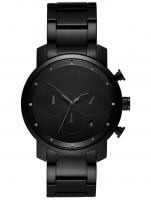 Ceas: Ceas barbatesc MVMT MC02-BB Chrono Black Link 40mm 10ATM