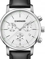 Ceas: Ceas barbatesc Wenger 01.1743.118 Urban Klassik Cronograf 44mm 10ATM