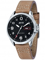 Ceas: Ceas barbatesc AVI-8 AV-4045-01 Hawker Harrier II 45 mm 5ATM