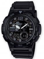 Ceas: Ceas barbatesc Casio AEQ-100W-1BVEF Collection  48mm 10ATM