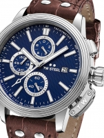 Ceas: Ceas barbatesc TW-Steel CE7010 Adesso Cronograf 48mm 10ATM