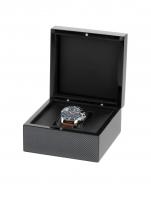 Ceas: Cutie Exclusive Lemn Negru RS-2000-1BK Pentru 1 Ceas