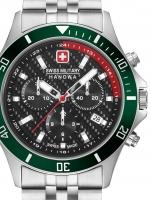 Ceas: Swiss Military Hanowa 06-5337.04.007.06 Flagship Racer Chrono 42 mm 10ATM