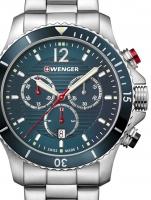 Ceas: Ceas barbatesc Wenger 01.0643.115 Seaforce Cronograf 43mm 20ATM