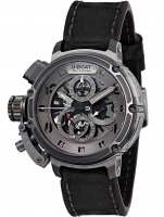 Ceas: Ceas barbatesc U-Boat 8066 Chimera Skeleton Titan Sideview Autom. Chrono 46 mm