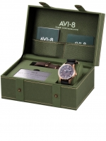 Ceas: Ceas barbatesc AVI-8 AV-4046-02 Hawker Hurricane  Autom. 43mm 5ATM