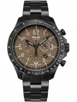 Ceas: Ceas barbatesc Traser H3 109460 P67 Officer Cronograf Khaki Steel 46mm 10ATM
