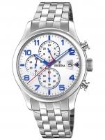 Ceas: Ceas barbatesc Festina F20374/4 Timeless Cronograf 41mm 10ATM