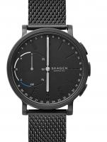 Ceas: Ceas Unisex Skagen SKT1109 CA Hagen Black Hybrid Smartwatch 42mm 3ATM