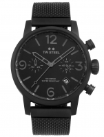 Ceas: Ceas barbatesc TW-Steel MB33 Maverick Cronograf 45mm 10ATM