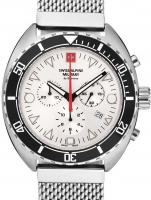 Ceas: Ceas barbatesc Swiss Alpine Military 7066.9132 Turtle Cronograf 44mm 10ATM
