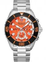 Ceas: Ceas barbatesc Swiss Military Hanowa 06-5341.04.079 Ambassador Cronograf 44mm 10ATM