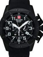 Ceas: Swiss Alpine Military 7063.9877 chronograph 45mm 10ATM