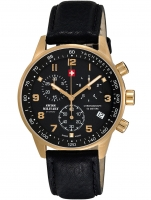Ceas: Ceas barbatesc Swiss Military SM34012.10 Cronograf 5 ATM, 41 mm