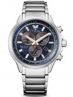 Ceas: Ceas barbatesc Citizen AT2470-85L Super-Titan Eco-Drive Cronograf 40mm 10ATM