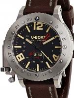 Ceas: Ceas barbatesc U-Boat 8095 U-42 GMT Titan Automat 50 mm