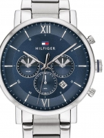 Ceas: Ceas barbatesc Tommy Hilfiger 1710409 Even Dual-Time  44mm 5ATM