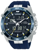 Ceas: Ceas barbatesc Lorus RW617AX9 Analog-Digital Alarm Cronograf 100M 46mm