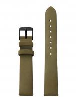Ceas: Cluse Ersatzband CLS334 [16 mm] grün m. schwarz Schließe