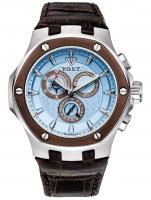 Ceas: Ceas barbatesc V.O.S.T. Germany V100.019.C2.SI.L.I Cronograf  44mm 20ATM