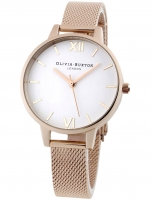 Ceas: Ceas de dama Olivia Burton OB16DE10 Demi White Dial 34 mm