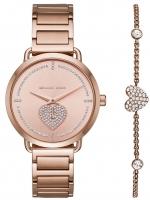 Ceas: Ceas de dama Michael Kors MK3827 Portia Valentine Set m. Armband 37mm 5ATM