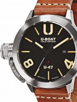Ceas: Ceas barbatesc U-Boat 8105 Classico U-47 Automat schwarz 47mm 100M