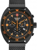 Ceas: Ceas barbatesc Swiss Alpine Military 7066.9179 Turtle Cronograf 44mm 10ATM