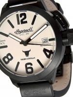 Ceas: Ceas barbatesc Ingersoll IN8900BCR Bison No. 6 Automatic 52mm 10ATM