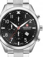 Ceas: Ceas barbatesc Swiss Military Hanowa 06-5316.04.007 Helvetus Cronograf 43mm 10ATM