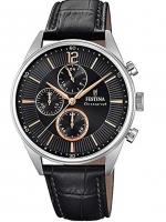 Ceas: Ceas barbatesc Festina F20286/6 Timeless Cronograf  41mm 5ATM