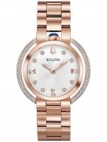 Ceas: Ceas de dama Bulova 98R248 Rubaiyat Diamond Saphir  35mm 3ATM