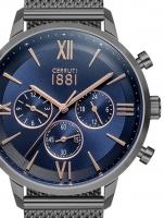 Ceas: Ceas barbatesc Cerruti CRA23404 Denno Cronograf  43mm 10ATM