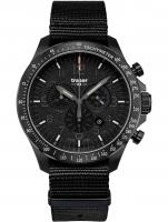 Ceas: Ceas barbatesc Traser H3 109465 P67 Officer Cronograf Black Nato 46mm 10ATM