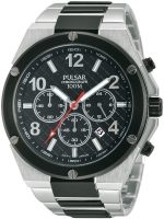 Ceas: Ceas barbatesc Pulsar PT3445X1 Cronograf 45 mm 10 ATM