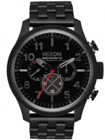 Ceas: Ceas barbatesc Nixon A1081-001 Safari Dual-Time 46mm 10ATM