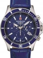 Ceas: Ceas barbatesc Swiss Alpine Military 7022.9535 Cronograf 42mm 10ATM