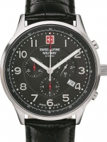 Ceas: Swiss Alpine Military 7084.9537 Chronograph 43mm 10ATM