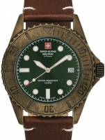 Ceas: Ceas barbatesc Swiss Alpine Military 7051.1584 Diver Vintage 41mm 10ATM