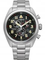 Ceas: Ceas barbatesc Citizen AT2480-81E Eco-Drive cronograf 43mm 10ATM