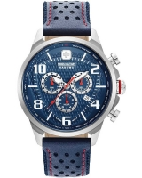 Ceas: Ceas barbatesc Swiss Military Hanowa 06-4328.04.003 Airman Cronograf 45mm 5ATM
