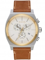Ceas: Ceas barbatesc Nixon A1164-2548 Time-Teller Cream Tan 39mm 10ATM