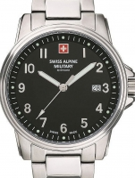 Ceas: Swiss Alpine Military 7011.1137 men`s 40mm 10ATM