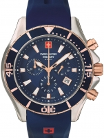 Ceas: Ceas barbatesc Swiss Alpine Military 7040.9855 Chrono 45mm 10ATM