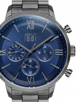 Ceas: Ceas barbatesc Cerruti CRA23409 Denno Cronograf 43mm 10ATM