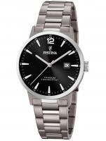 Ceas: Ceas barbatesc Festina F20435/3 Klassik Titan Cronograf 40mm 10ATM